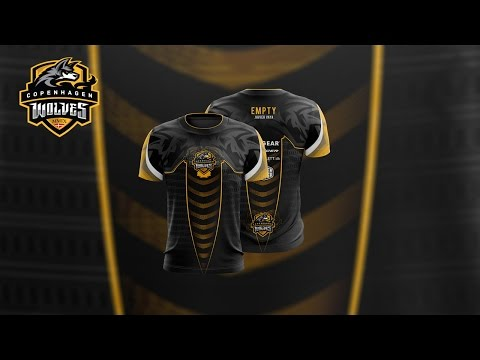 Copenhagen Wolves Esports Jersey Design