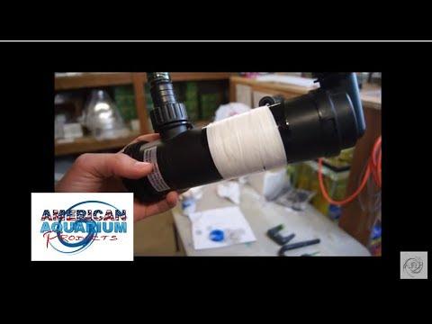 Leaking Aquarium Filter Part Repair Fix- Teflon Tape/PVC Cement