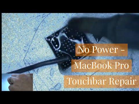 Macbook Pro Touchbar Doesn't Power On Fix - A1707 board 820-00281