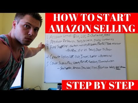 How To Start Selling On Amazon STEP BY STEP For Beginners