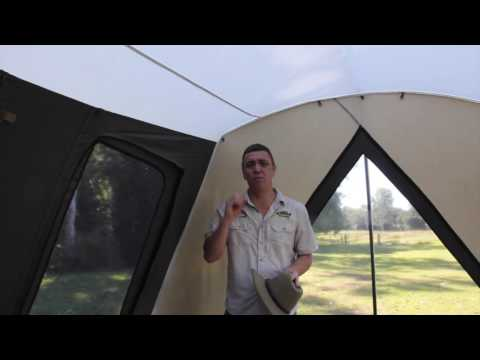 The Camping Guru | How to Clean your Canvas Tent