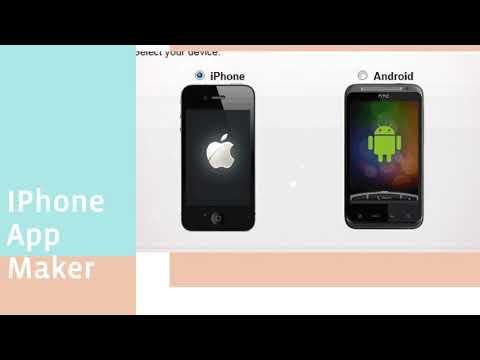 Free App Development Software, Iphone App Maker