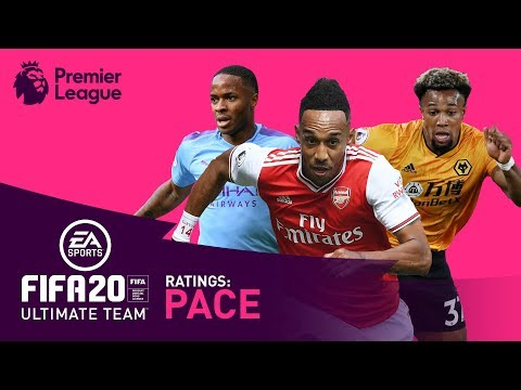 FASTEST Premier League Player? | Traore, Sterling, Aubameyang | FIFA 20 | AD