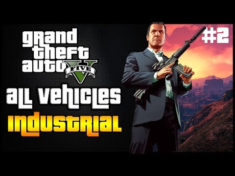All Industrial Vehicles In GTA 5 Online | Vans, Trucks, Trailers and more