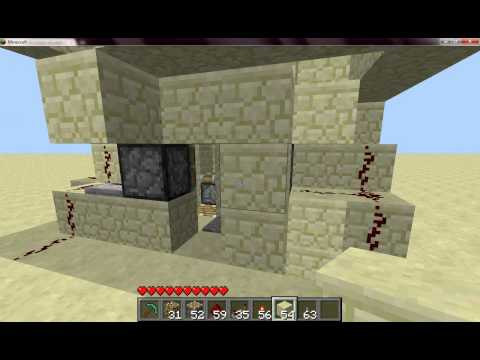 Minecraft beta 1.7.3 - Piston elevator