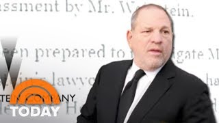 Harvey Weinstein Says He Has To 'Get Help' As Even More Allegations Surface   TODAY