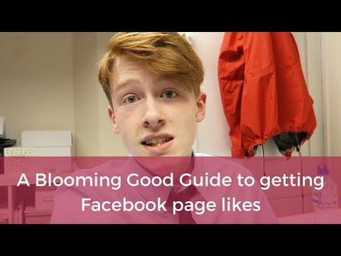 The blooming quick guide to getting those first Facebook page likes
