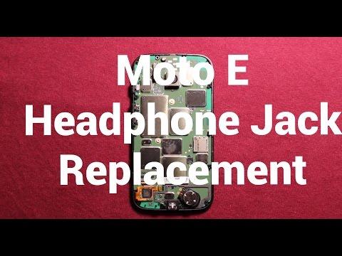 Moto E Headphone Audio Jack Replacement How To Change