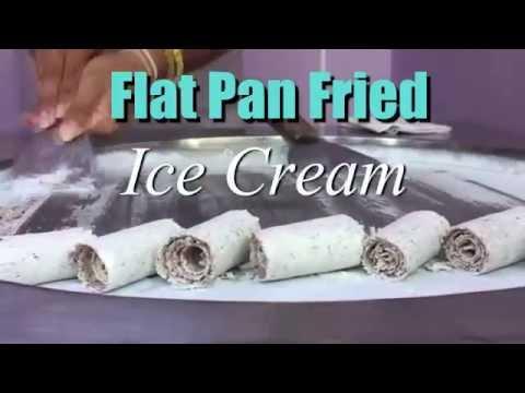 Roll Ice Cream Machine @ FFTAsia