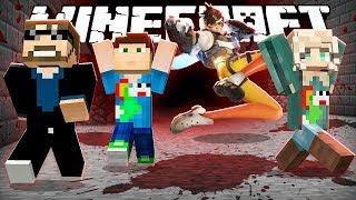 Minecraft: OVERWATCH KILLER RUN!! | MODDED MINI-GAME