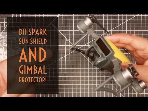 Video Drone - DJI Spark Sun Shield and Gimbal Protector!