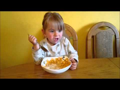 Baby eating breakfast - Corn Flakes | AmeliaToys ☺☺☺