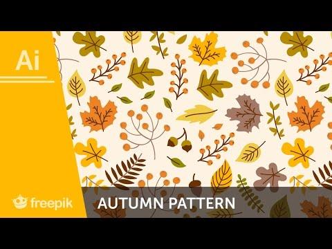 How to create a fall Pattern in Adobe Illustrator - Alba Zapata | Freepik