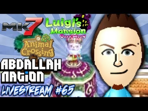 AbdallahNation Weekend Livestreams #65: Luigi's Mansion Rug Glitch | The Top of Katrina's Tent!