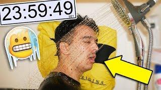 I Spent 24 Hours Inside A Shower and I GOT PRANKED! (Overnight Challenge Gone Wrong)