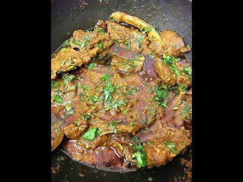 Lamb Chops Bhuna Curry