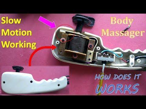 body massage machine