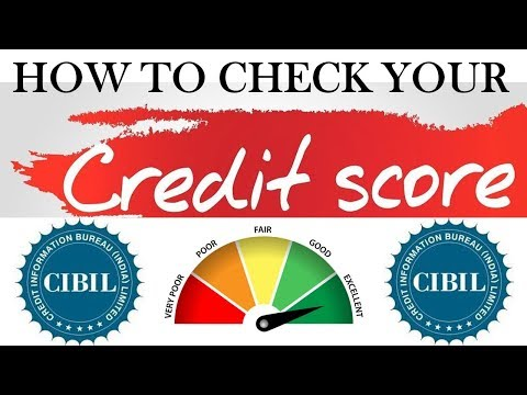 How to check your CIBIL report || Online Credit Report || Credit Score