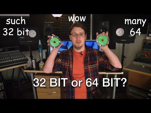 Mac Vs PC - 32 bit or 64 bit?
