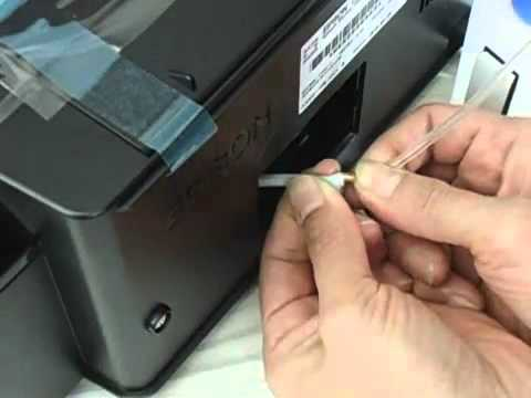 Tutorial Make Epson Waste Ink Tank