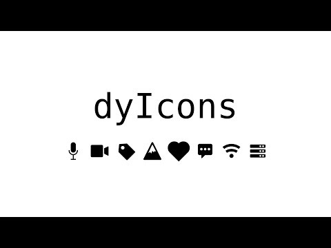 dyIcons - Free icons for your projects - Yusuf Shakeel