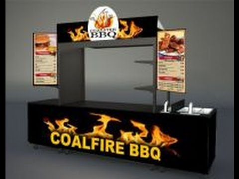 Outdoor Food Carts and Branded Food Kiosks: Cart-King