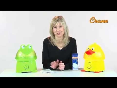 Crane Ultrasonic Cool Mist Humidifier Frog