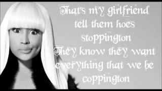 nicki minja girlfriend lyrics