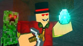Roblox meets Minecraft ! - Craftronix Animation