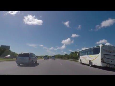 Driving in Dominican Republic. Punta Cana to Santo Domingo 1/2