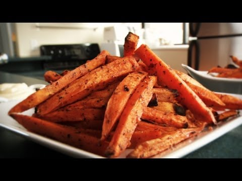 How to Make Delicious Sweet Potato Fries: Recipe
