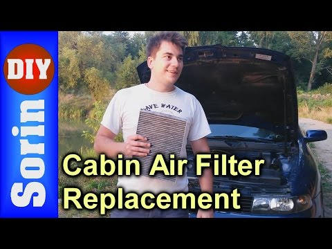 How to replace your cabin air filter - Seat Leon 1m / Toledo 2 (Golf 4, Bora)