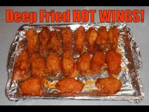 Great Hot Chicken Wings Recipe**Deep Fry** Super Bowl Party Style!