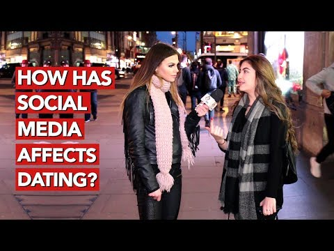 How has social media affects dating?
