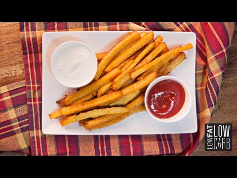 Crispy Rutabaga Fries - Curb Your Cravings with these Healthy French Fries!