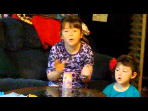 7 year old sings The Cup Song