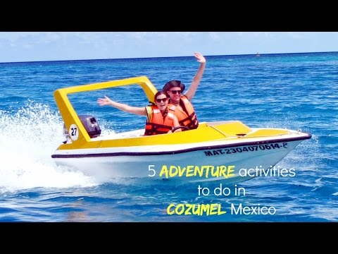 5 adventure activities to do in Cozumel Mexico