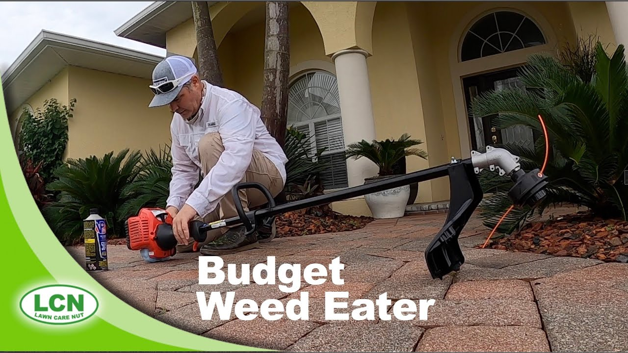 Testing the Cheapest String Trimmer From WalMart   Budget Weed Eater Review