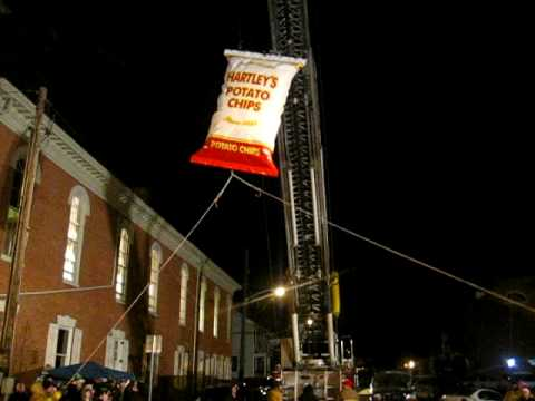 Hartley's Chip Bag Drop, New Years 2009, Lewistown, PA.