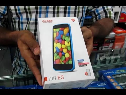 Gionee Elife E3 Review and Unboxing