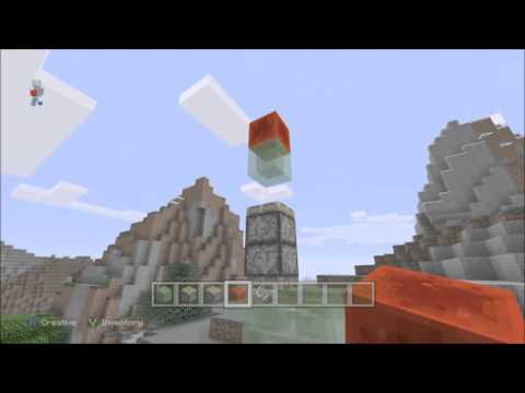 Minecraft Xbox ONE PS4 & Wii U How To Make A Rocket Ship in Minecraft (No Mods)