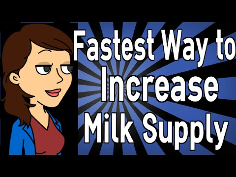 Fastest Way to Increase Milk Supply