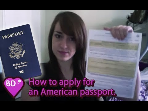 How I applied for a United States passport [My Quest for Japan 3, 日本探求]