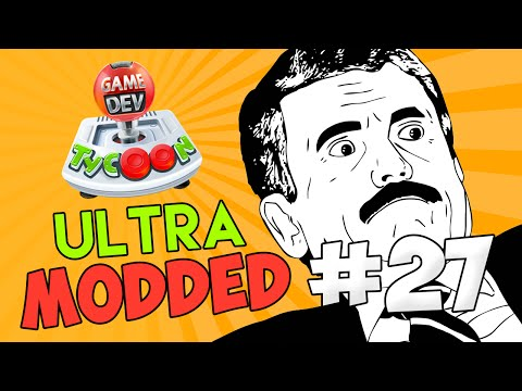 Game Dev Tycoon Ultra Modded #27 - WORLDS BEST MMO GAME w/Seniac