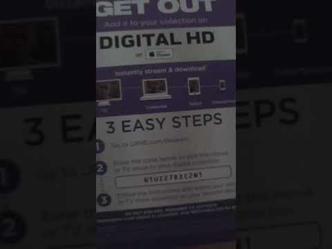 Get Out FREE Ultraviolet Copy