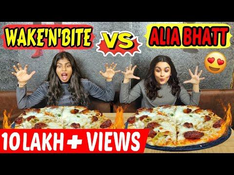 Xxx Mp4 WAKE 39 N 39 BITE Vs ALIA BHATT PIZZA EATING CHALLENGE CHINESE PIZZA EATING COMPETITION Ep 222 3gp Sex