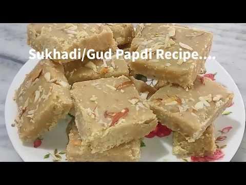 Sukhadi /Gud papdi Recipe....