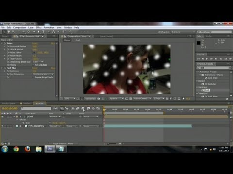 How to: Background With a Disco Ball in After Effects : Adobe After Effects