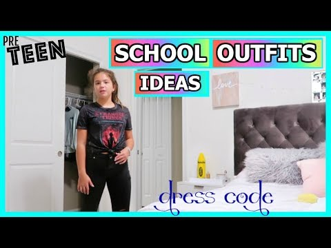 Xxx Mp4 PRETEEN OUTFITS IN SCHOOL DRESS CODE 👍🧢🕶🎓 303 3gp Sex