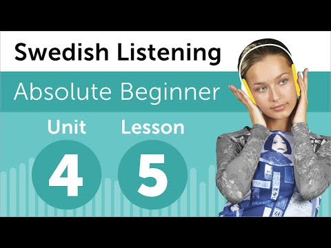 Swedish Listening Practice - Arranging Furniture in a Room